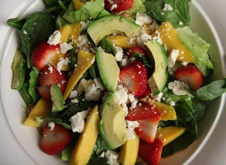 Mango Strawberry Avocado SaladFashionEdible