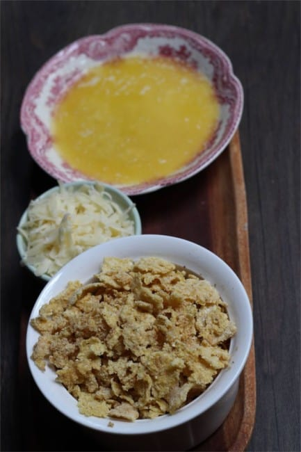 gluten free cornflake chicken dinner