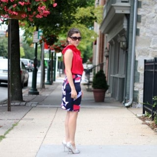 Geometric Patterns – a DIY From Dress to Skirt