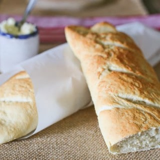 Homemade French-Style Baguettes
