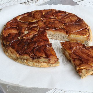 Gluten Free Pumpkin Spice Pear Pancake