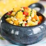 Tropical Grilled Corn Salsa