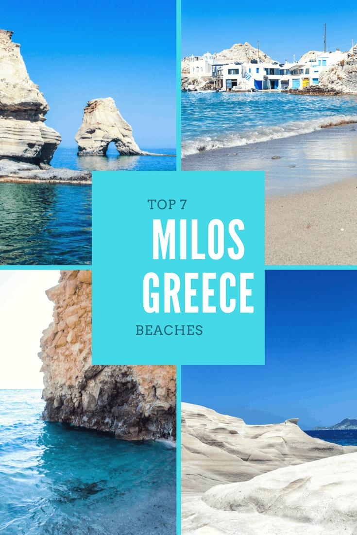 top beaches in milos greece   fashionedible