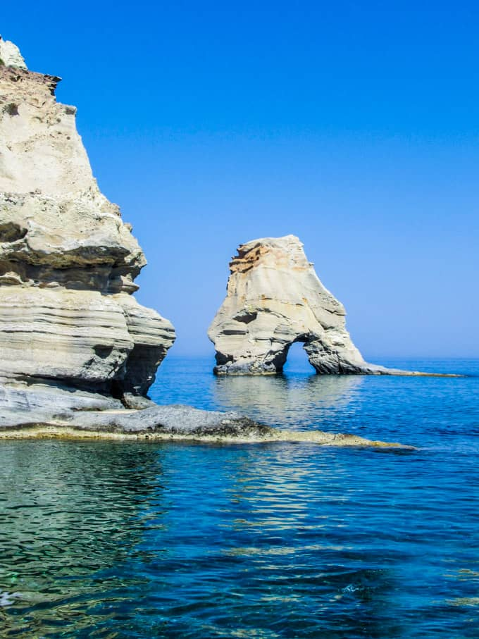 Milos, Greece  How to Reach Kleftiko Beach on Foot ...