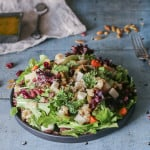 Adzuki Bean Jicama Salad with Lime Chipotle Dressing
