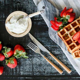 Gluten Free Waffles w. Cassava Flour