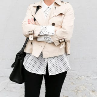 Spring Style: Cropped Trench