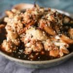 Vegan Teriyaki Style Roasted Cauliflower