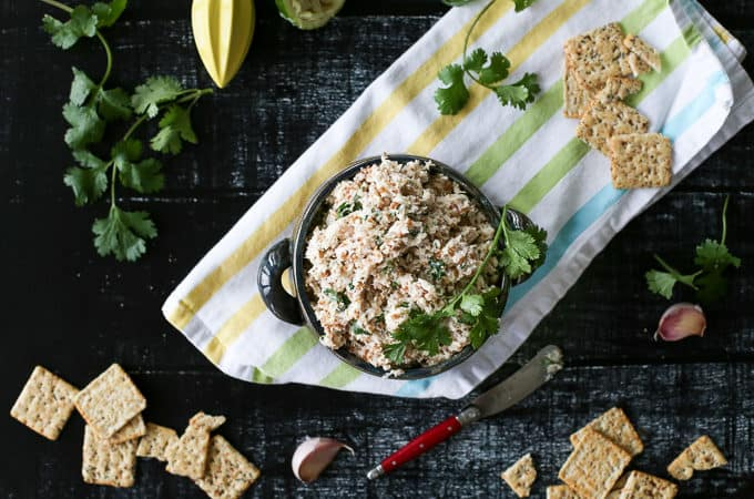 cilantro lime tuna salad - perfect for summer!