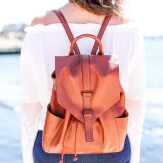 Leather Backpack – Fall Perfection