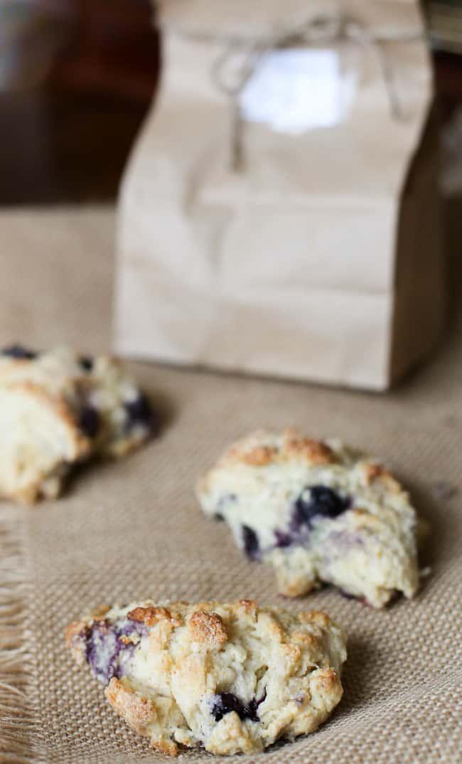 recipe blueberry scones
