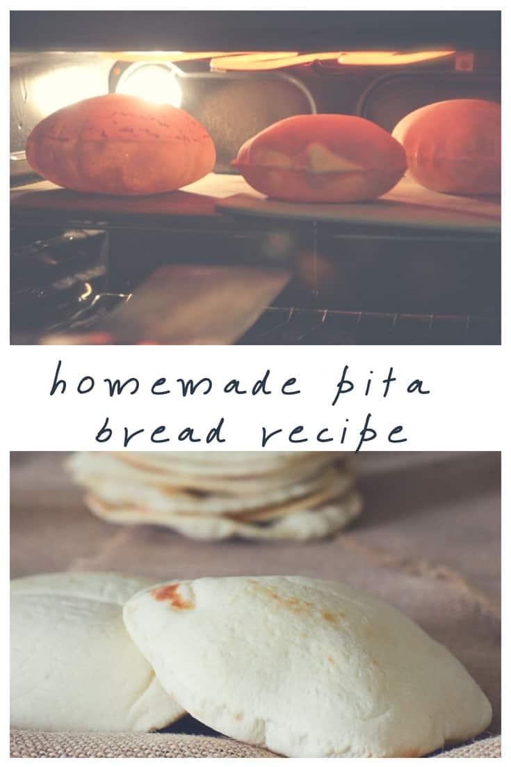 pita bread recipe how to make pita bread