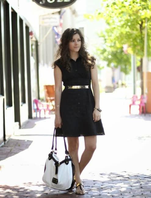 black white gold fashion 7127e3898