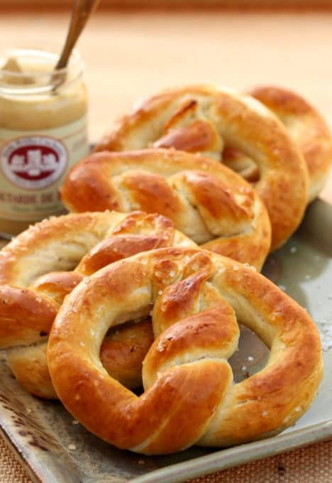 homemade oktoberfest pretzels recipe