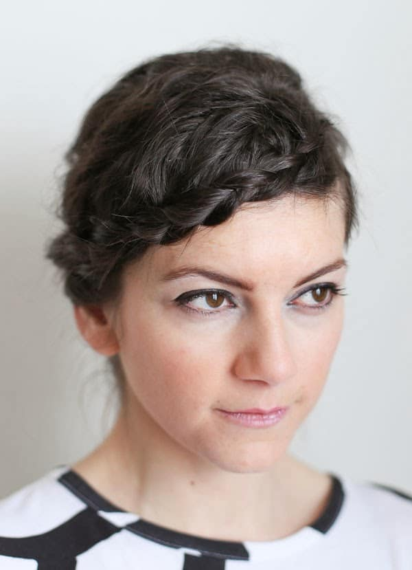 Fall 2014 Inspired Braided Hairstyle