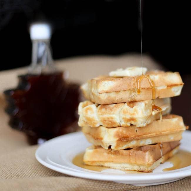classic waffle recipe