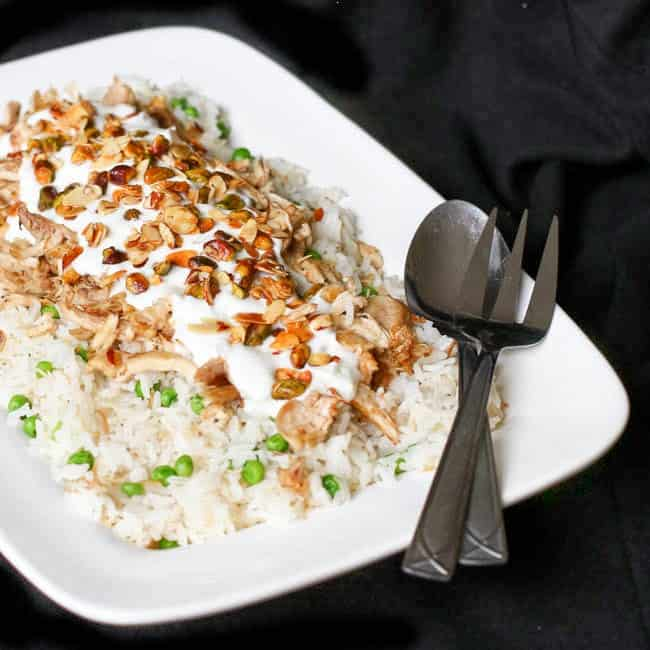 Middle Eastern Chicken And Rice Grace J Silla