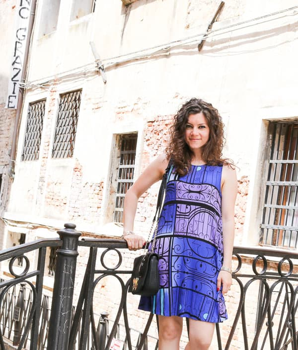 swing dress and Venice travel diary
