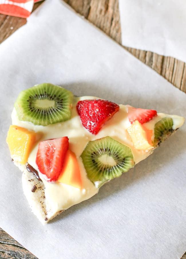 Gluten Free Fresh Fruit Pizza