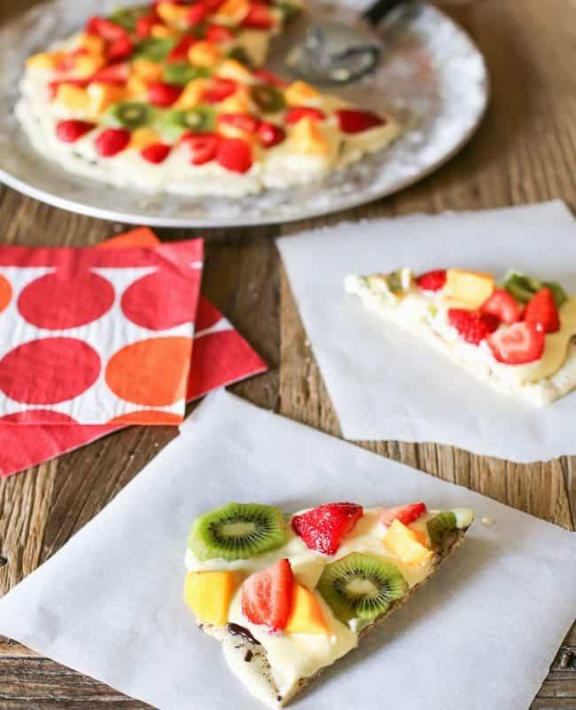 Gluten-Free Fruit Pizza
