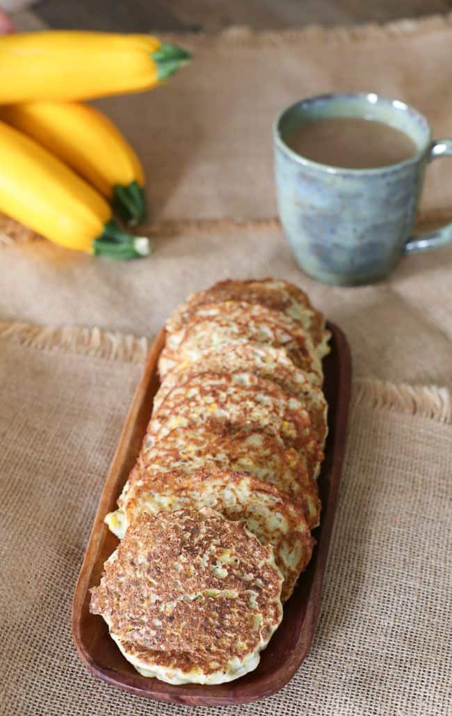Gluten Free Potato Zucchini Pancakes