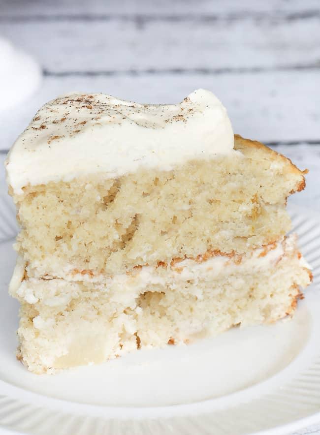 Layered Pear Cake with Rumchata Mascarpone Cream ...