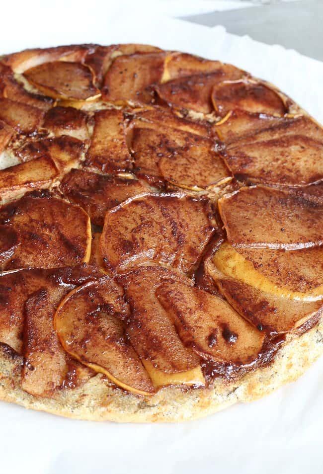 Pumpkin Spiced Pear Pancakes