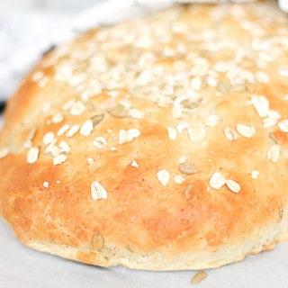 Seeded Walnut Oatmeal Bread