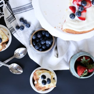 Tres Leches Layered Cake w. Berries