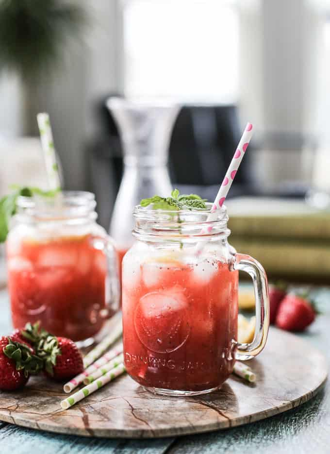 strawberry mint lemonade recipe