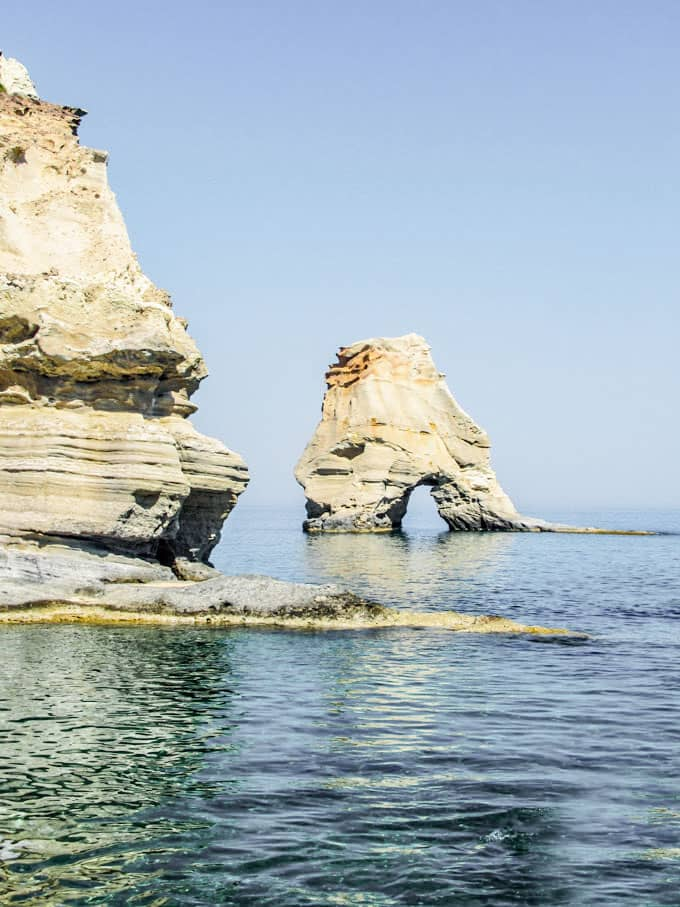 Best Beaches in Milos Greece