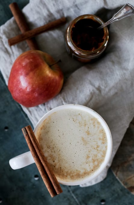 Celebrate fall with this easy recipe: creamy caramel apple cider served hot!