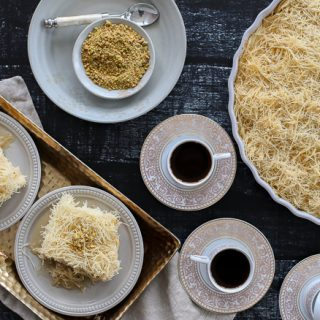 A Lebanese Dessert: Knafeh + An Exciting Announcement!