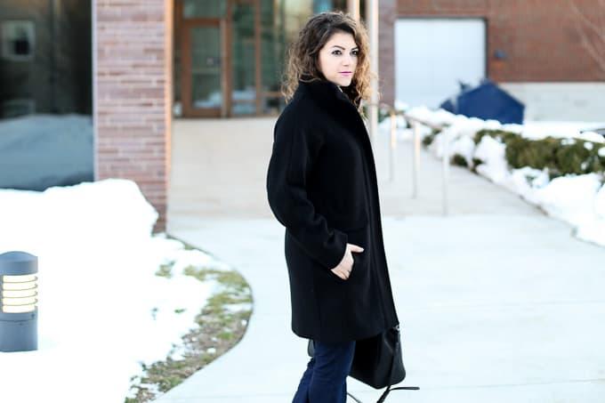 Wool Blend Winter Coat