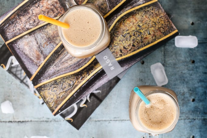 Dairy Free Blended Iced Almond Coffee