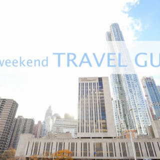 NYC Weekend Travel Guide