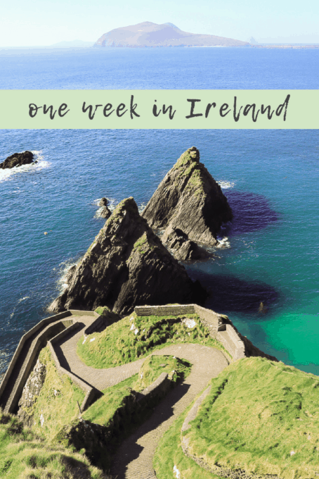 one week in Ireland - a travel guide on Ireland