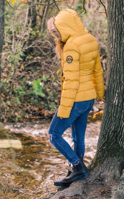 Fall 2017: Australian Boots & A Yellow Puffer