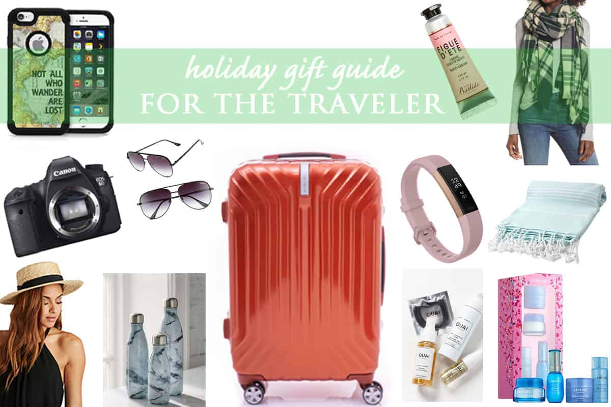 Holiday Gift Guide for the Traveler in 2017