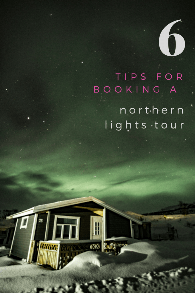 things to know before you book a northern lights tour