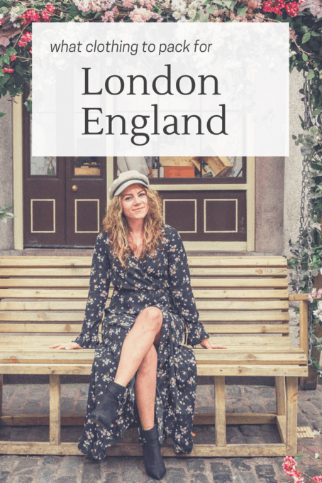 What to Pack for London in March