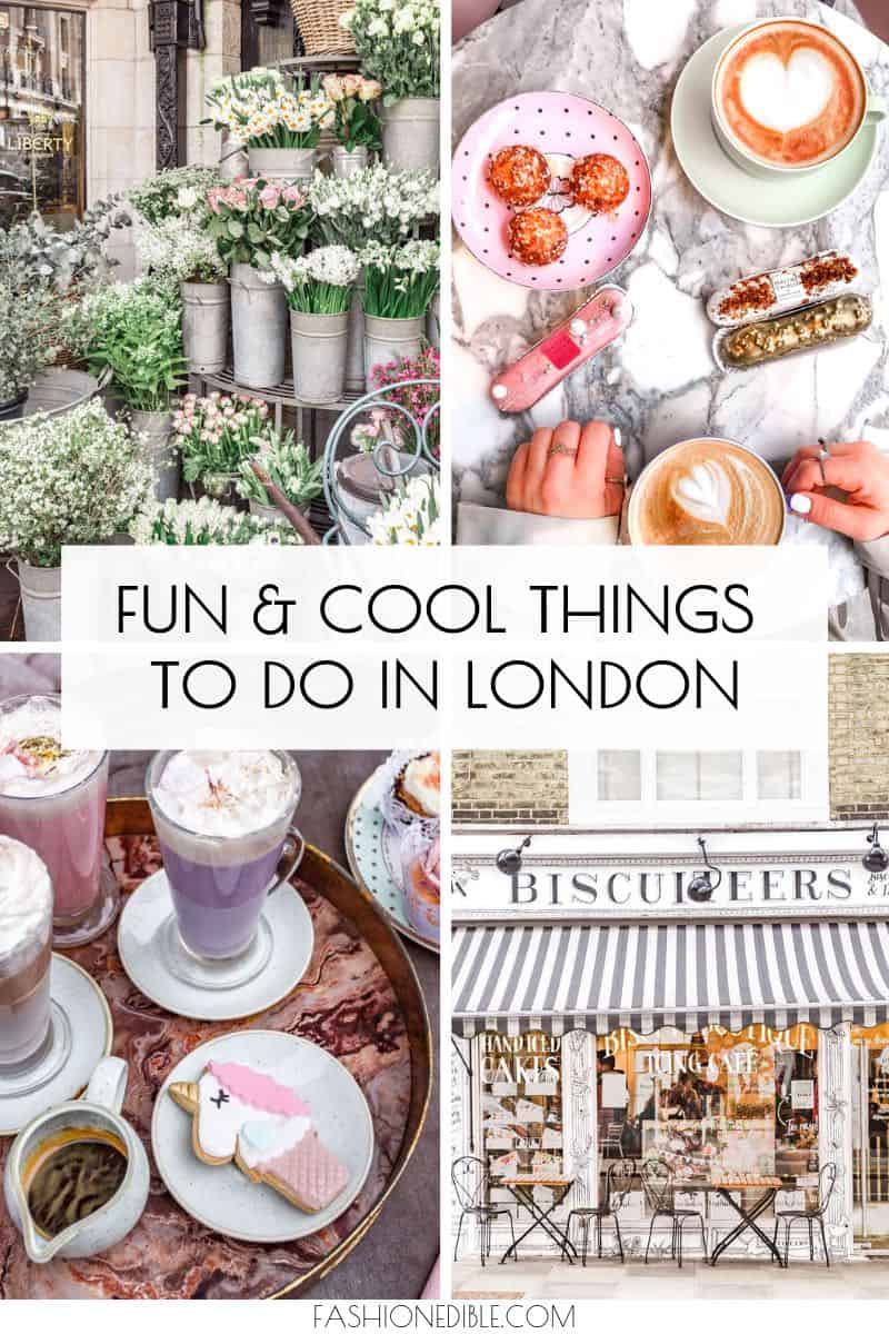 Cool things to do in London | fun things to do in London | what to do in London | London attractions | London activities | awesome things to do in London