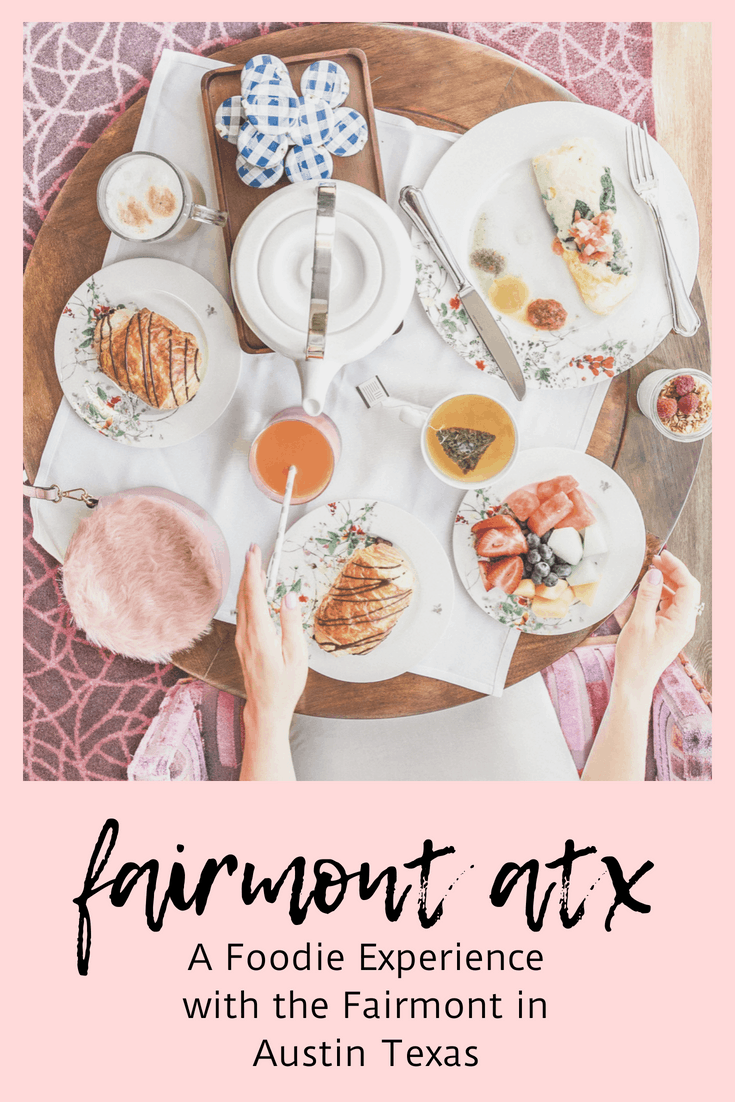 Fairmont ATX- An Experience with the Fairmont Austin Texas