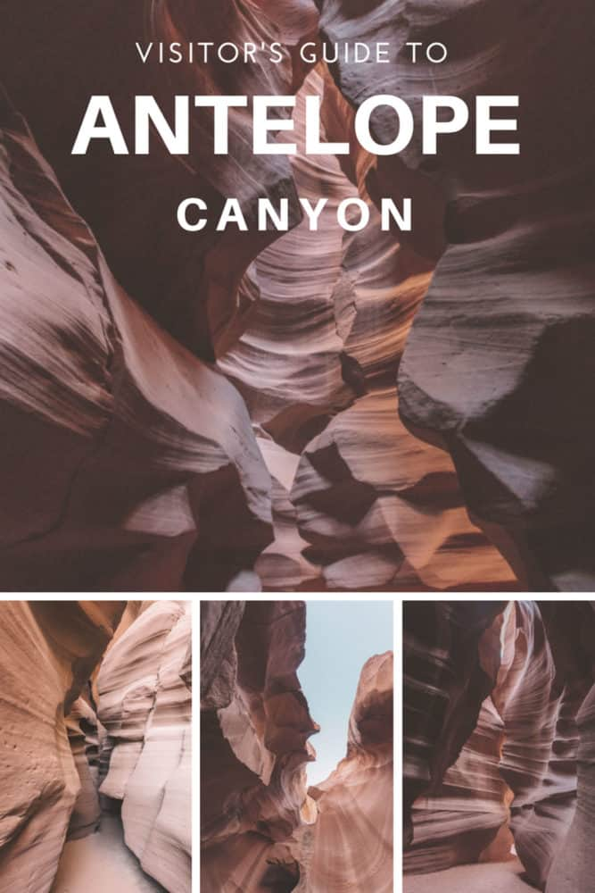 visiting Antelope Canyon in Page Arizona