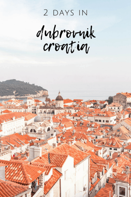 2 days in Dubrovnik Old Town