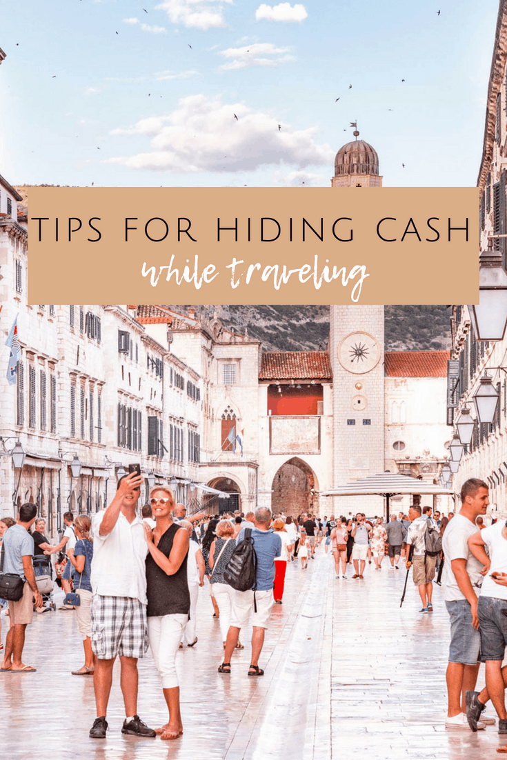 tips for hiding cash while traveling