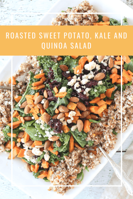 Quinoa and Kale Salad with Cranberries