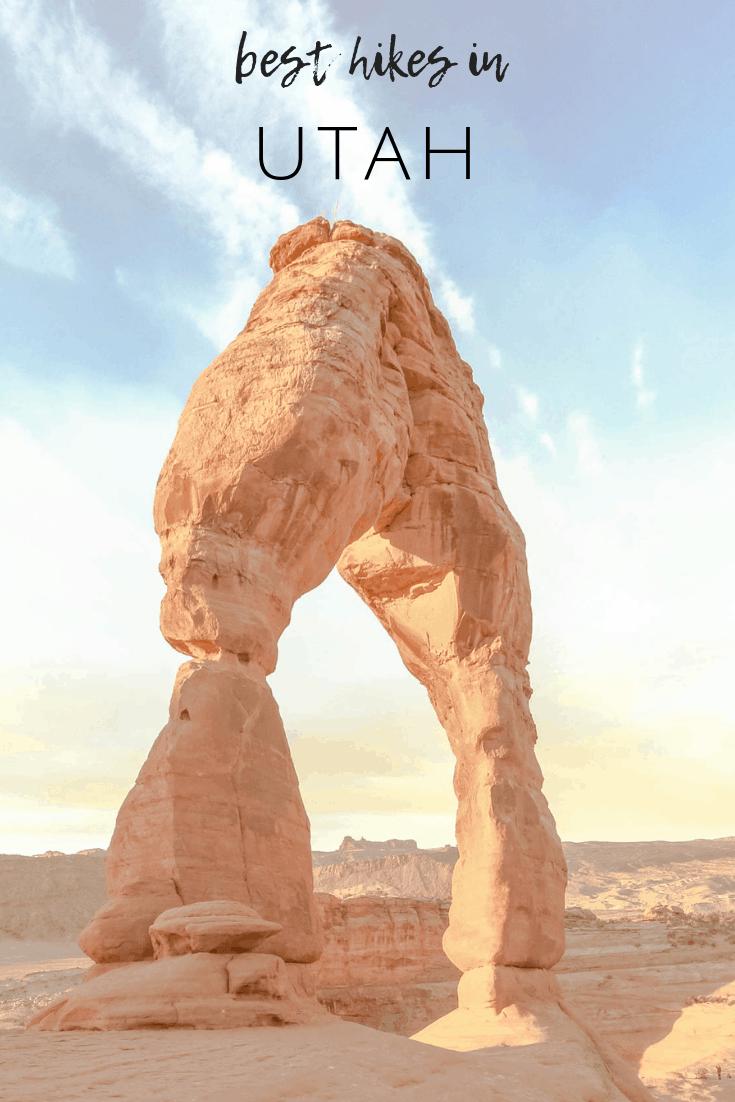 best hikes in Utah