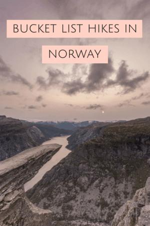 Best Hikes in Norway