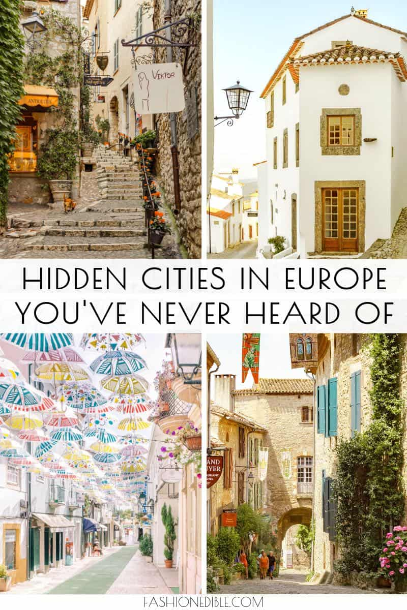 Hidden Gems in Europe | Europe's Hidden Gems | Off the beaten path Europe | Hidden towns in Europe | Non-touristy places in Europe